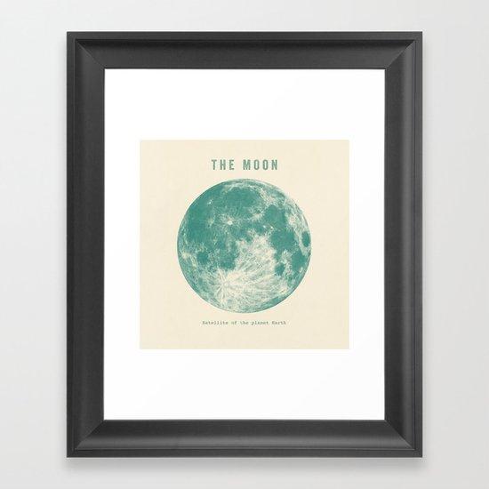 Satellite of the planet Earth  Framed Art Print