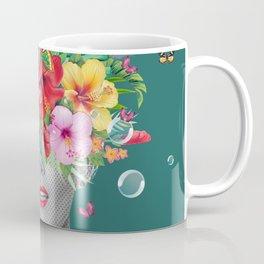 portriat floral Coffee Mug