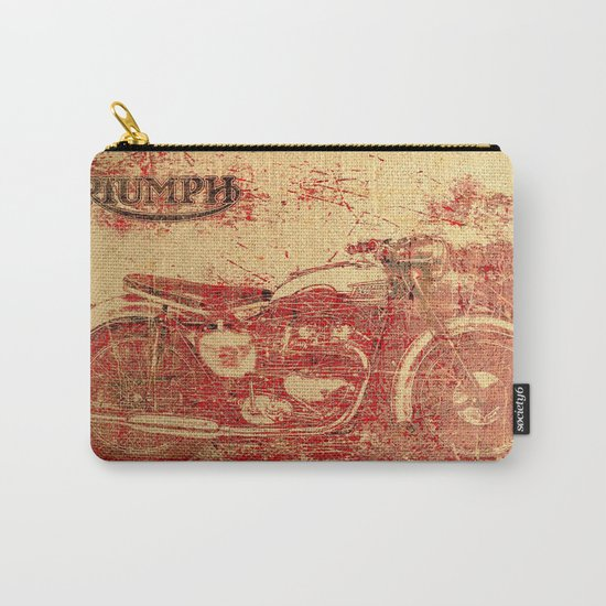Triumph - Vintage Motorcycle Carry-All Pouch