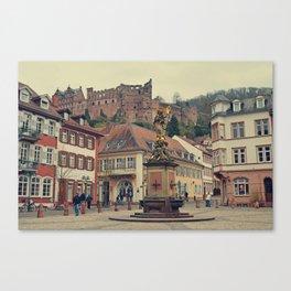 Heidelberg Town Square Canvas Print