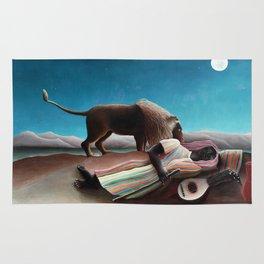 Henri Rousseau The Sleeping Gypsy Rug