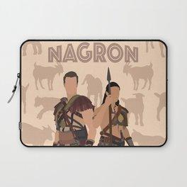 Nagron Goat Farm (Spartacus) Laptop Sleeve