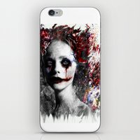 harley quinn iPhone & iPod Skins featuring Harley Quinn by ururuty