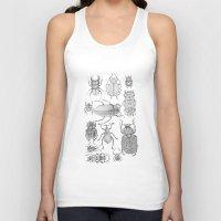 bugs Tank Tops featuring Bugs by Jillian Leigh