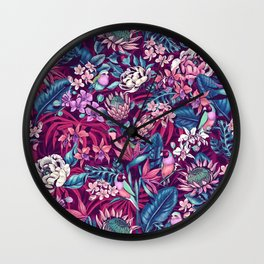 Stand Out! (ultraviolet) Wall Clock
