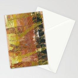 Shades of Gold by Australian Artist Vidy Potdar Stationery Cards
