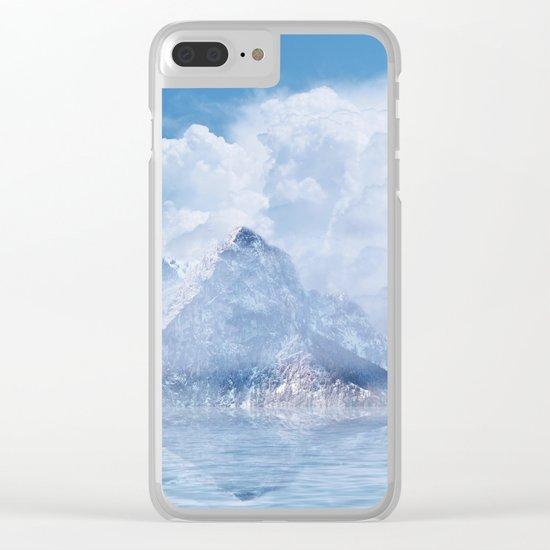 Magic in the Clouds Clear iPhone Case