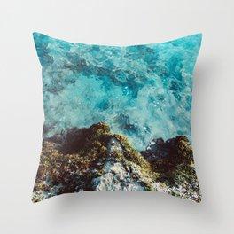 Blue Coast Throw Pillow