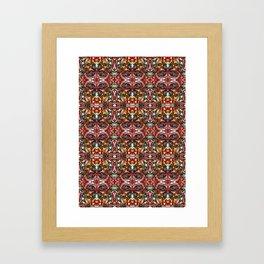 Marbled Bloodline Framed Art Print