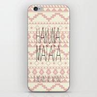hakuna iPhone & iPod Skins featuring Hakuna Matata by dani
