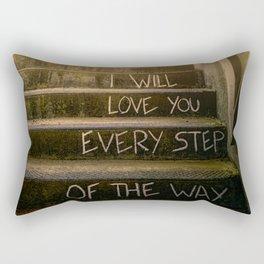 Love Steps Rectangular Pillow