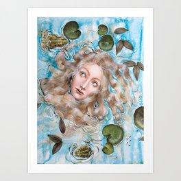Ophelia Amphibian Kunstdrucke