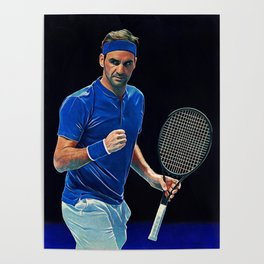 Roger Federer Posters For Any Decor Style Society6
