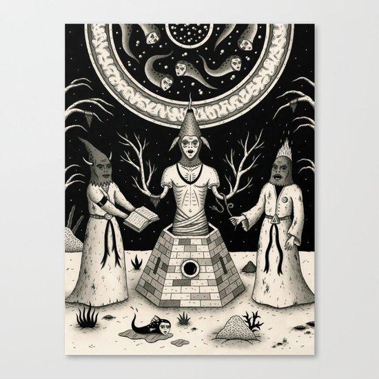 The Incantation Canvas Print