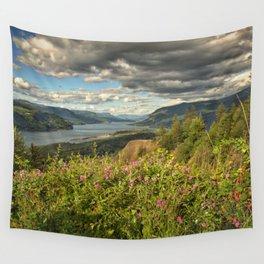 Columbia River, Portland, Oregon Wall Tapestry