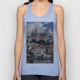 Sunny day in Prague Unisex Tank Top
