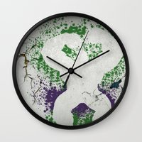 hulk Wall Clocks featuring Hulk by NKlein Design