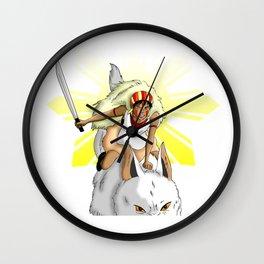Andrea Bonifacio: San (Princess Mononoke) x Bonifacio x Gabriela Silang Wall Clock