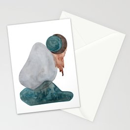 dos lunas Stationery Cards