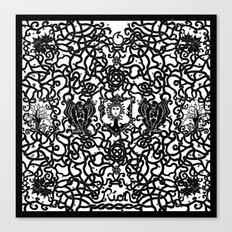 Medusa's Garden Canvas Print