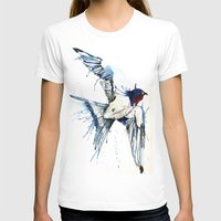swallow T-shirts featuring My Swallow by Meg Ashford