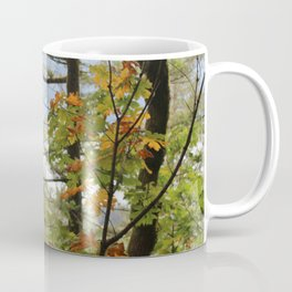 Columbia Rover Gorge Washington Trees in Autumn Coffee Mug