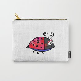 Ladybug Doodle Carry-All Pouch