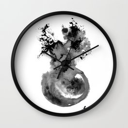 Biological Botanical Wall Clock