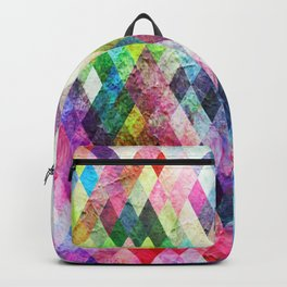Diamond Bright Painted Design Backpack