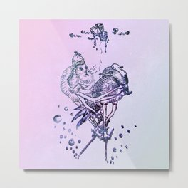 Birdie &Rabby Metal Print