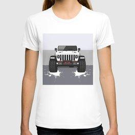 White JL T-shirt