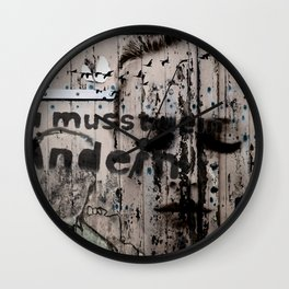 Change is a positive act Wall Clock
