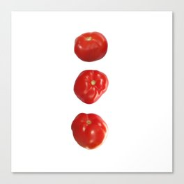 Vegetable tomatoes for the kitchen, Tomato poster Kitchen-art Canvas Print