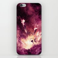 abyss iPhone & iPod Skins featuring Abyss by Harold Urquiola