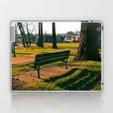 Empty park Laptop & iPad Skin