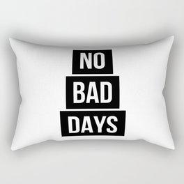 No Bad Days Rectangular Pillow