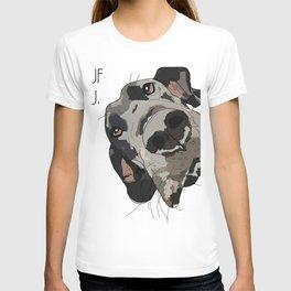 I Wuf You - Great Dane T-shirt