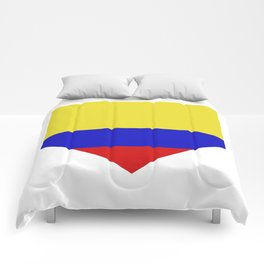 colombia flag Comforters