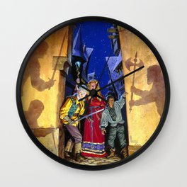 Shadow's Realm Wall Clock