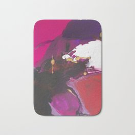 """""""Lust"""" abstract painting Bath Mat"""