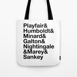 & Infographic Pioneers Tote Bag