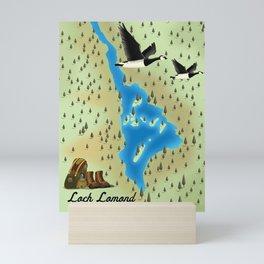 Loch Lomond,Trossachs, Scotland, Mini Art Print