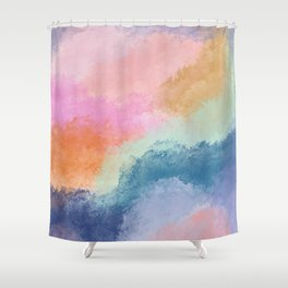 Colorful Fresco Shower Curtain