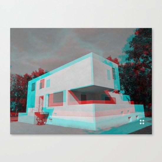 Bauhaus · Das Bauhaus 3 Canvas Print