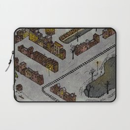 Wintery Town Laptop Sleeve