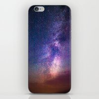 milky way iPhone & iPod Skins featuring Milky Way by Lotus Effects