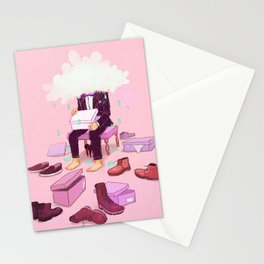 Mr. Confused Stationery Cards
