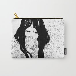 Flower Scarf Carry-All Pouch