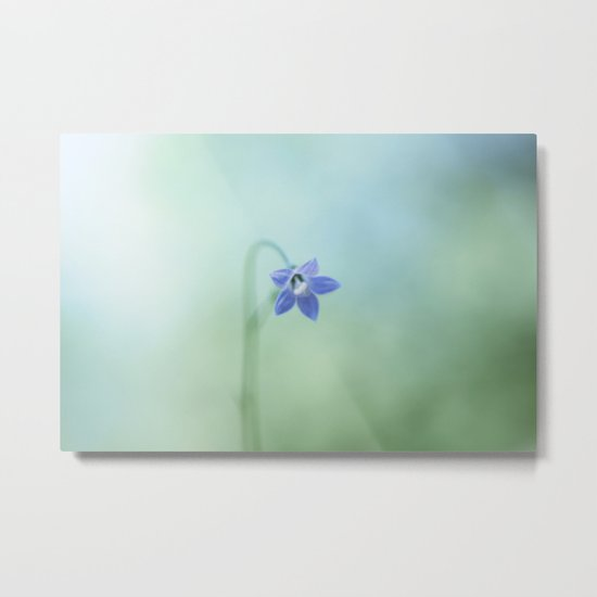 The Morning Blues Metal Print