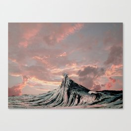 WAVE # 2 - sky Canvas Print